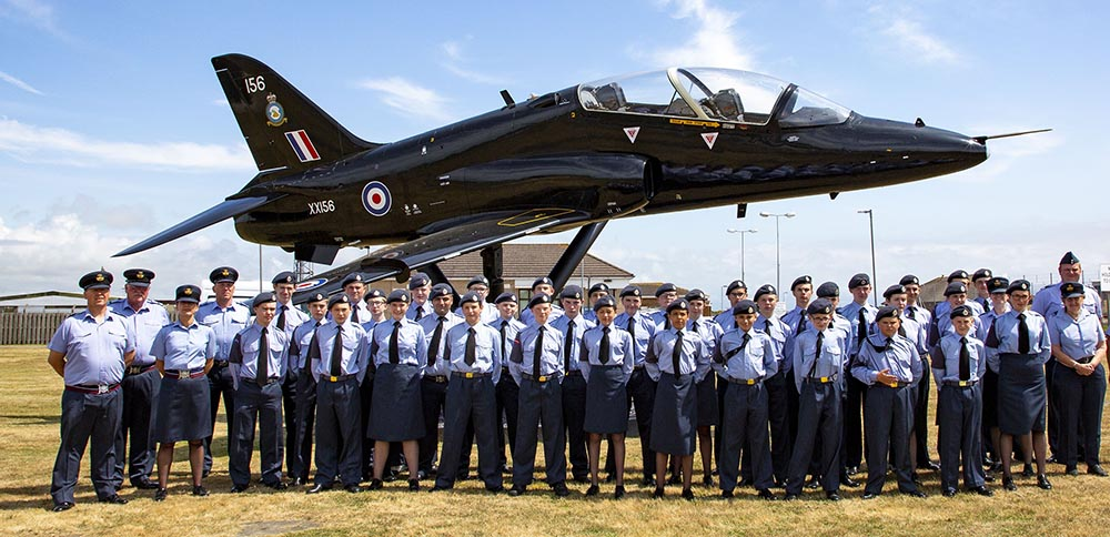 combined cadet force RAF Valley Wales